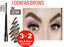 LOOKFAB-Eye-Brow-Definer-amp-Brush-Pencil-Duo-Double-Ended-Eyebrow-Definer-Brow thumbnail 13