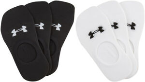 bd5287eb Details about NWT Under Armour Women's Ultra Low Training Liner Socks 3  Pack Pair