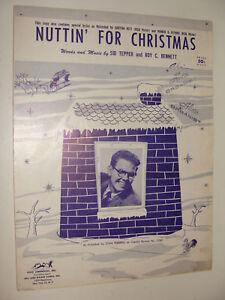 Nuttin For Christmas.Details About Nuttin For Christmas Eartha Kitt Homer Jethro Stan Freberg Tepper Bennett