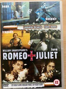 Romeo-amp-Juliet-DVD-1996-Shakespeare-Pelicula-Clasica-con-Leonardo-Dicaprio