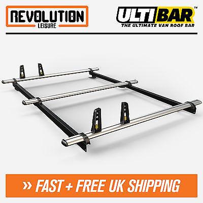 Ulti Bars 2 x Roof Bar Rack VW Caddy Swb L1 Sept 2010 Onwards VG294-2
