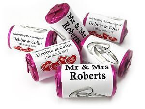 Personalised-Mini-Love-Heart-Sweets-for-Weddings-favours-Silver-Rings-V0