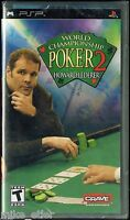 World Championship Poker 2 Featuring Howard Lederer (sony Psp) Factory Sealed