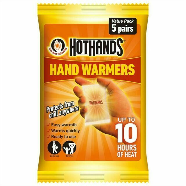2 Packs Hot Hands Value Pack 20 Pairs of Hand Warmers