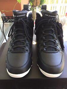95c448f3fd8fc6 Nike Air Jordan 9 IX Retro Pinnacle Pack Black White  45 AH6233 903 ...