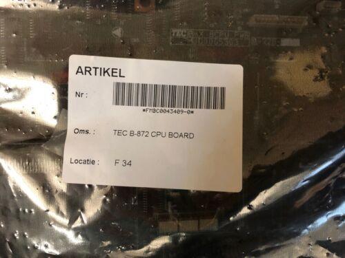 Toshiba TEC B-872 CPU Board Assy FMBC0043409