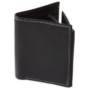 Mens Wallet Real Leather Purse ID Credit Card Holder Coin Pocket Gift New Q1116