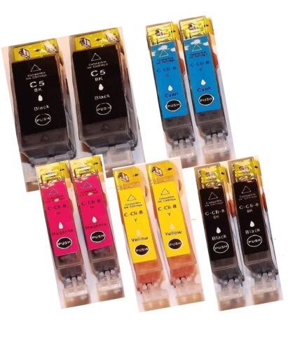 Druckerpatronen mit Chip für Canon MP500 MP520 MP530 MP800 MP810 MP950 PGI5 CLI8