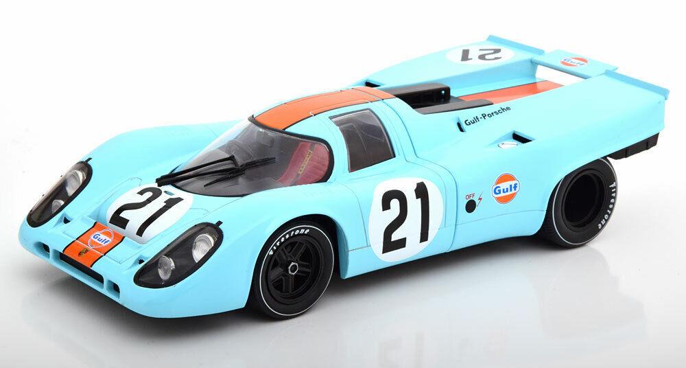 1 18 CMR Porsche 917K  21, 24h Le uomos RodriguezKinnunen 1970 Gulf