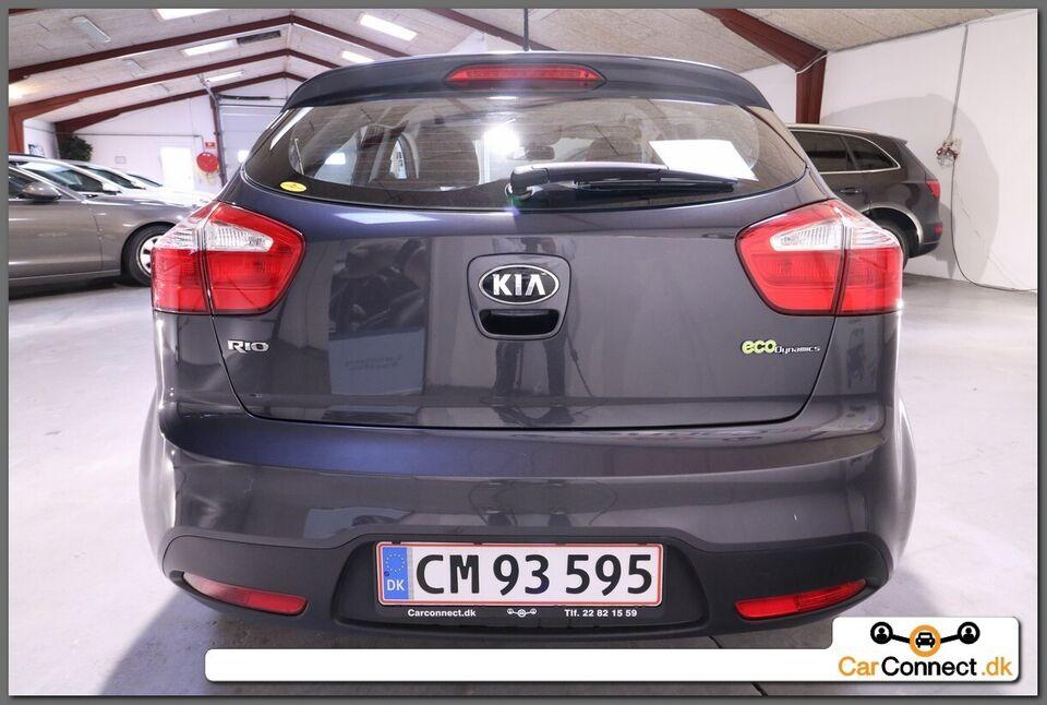 Kia Rio 1,1 CRDi 75 Eco+ Diesel modelår 2013 km 114000 Koks