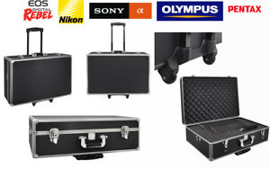 Xit-LARGE-HARD-PHOTOGRAPHIC-EQUIPMENT-CASE-WITH-CARRYING-HANDLE-AND-WHEELS