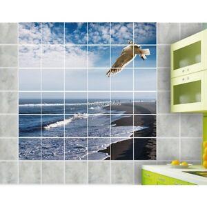 Sticker Carrelage Mural Faience Deco Cuisine Ou Salle De Bain