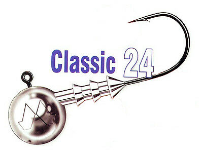 Mustad Classic Jig Heads / size: #4/0 - 3-30g / 3pcs. per pack!