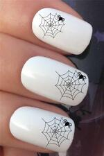 HALLOWEEN WATER NAIL TRANSFERS SPIDER WEB WATER TRANSFERS DECAL STICKERS *292