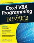 Excel VBA Programming For Dummies by John Walkenbach (Paperback, 2015)