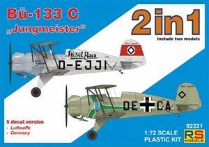 Rs-Models-1-72-Bucker-Bu-133c-034-Jungmeister-034-2en1-92221