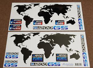 BMW R1200GS Motorrad Motorsport  Adventure World Laminated Decals Stickers