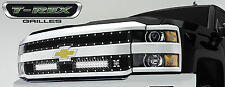 T-REX Torch Series LED Grille 2015 Chevy Silverado 2500 3500 HD 6311221 Black