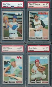 1970-Topps-Baseball-Complete-Set-NM-MT-including-42-PSA-8-039-s