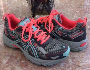 Details about Asics Gel-Venture 5 Women's Multicolor Trail Running Shoes Size 7 #C584N EUC