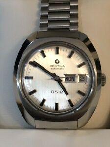 Certina-DS2-anni-039-70-Automatico-Day-Date-con-box-condizioni-ottime