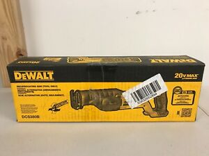 Brand-New-Factory-Sealed-DeWALT-DCS380B-20V-Reciprocating-Saw-Tool-Only