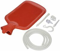 2 Qt. Hot Water Bottle Combination Enema Bag Douche With All Attachments