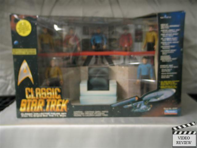 Classic Star Trek Bridge Collector Figure Set 1993 Playmates NumbeROT Edition