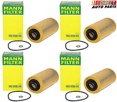 Engine Oil Filter MANN HU 938//4 x