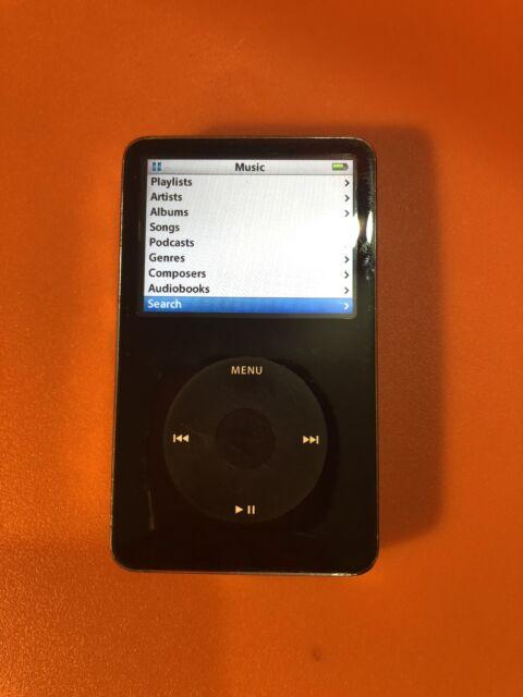 Apple iPod classic 5.5 Generation (Wolfson DAC)  Black (80 GB)