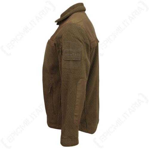 Hextac Elite Veste en Polaire-Foncé COYOTE-TOP COAT militaire homme toutes tailles NOUVEAU