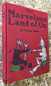 Marvelous Land of Oz~ L.Frank Baum,Best Facs of 1904 First Edition~w/MAP Wizard