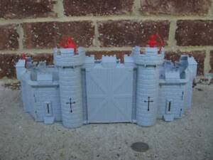 MPC-Medieval-Castle-Knights-Middle-Ages-1-48-Crusades-Toy-Soldiers-Diorama