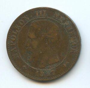 Napoleon-III-1852-1870-2-Centimos-1857-D-Lyon