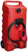 Boat Gas Pump Portable Can Tank Dock Duramax Flo N' Go 14 Gallon Fuel Caddy