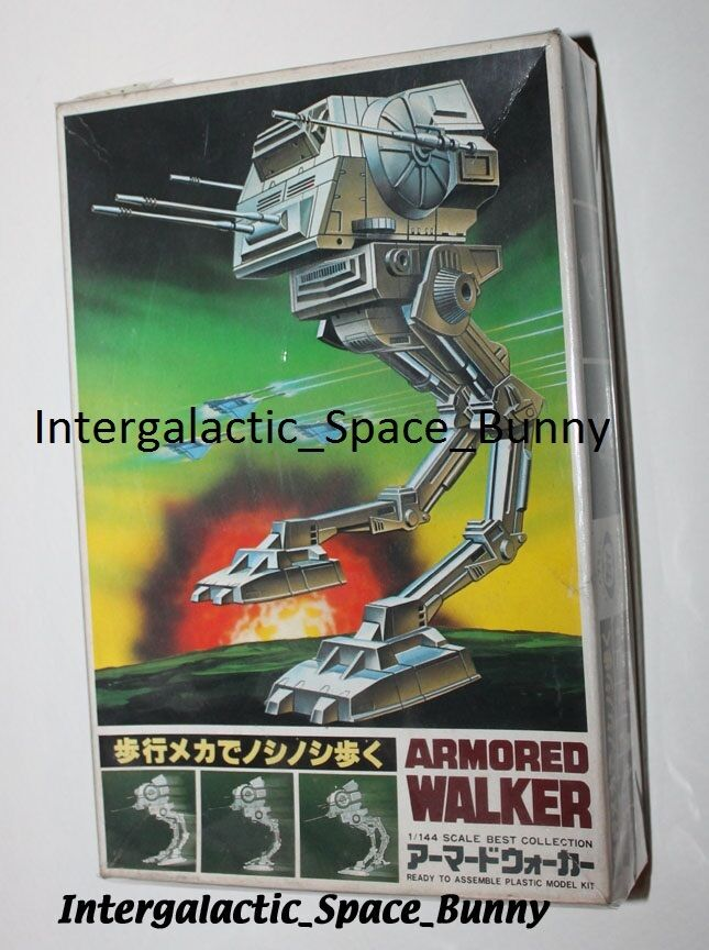 1980 Japón Star Wars blindado Walker (A-Star Trek) Modelo Kit sin usar