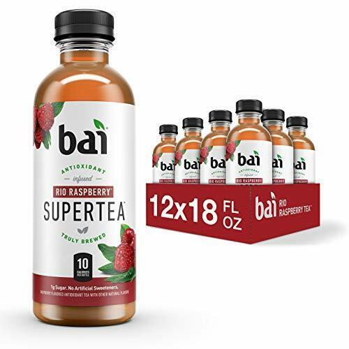 Bai Iced Tea, Rio Raspberry, Antioxidant Infused  Assorted Flavors , Sizes