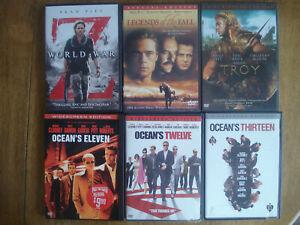 Brad-Pitt-11-DVD-lot