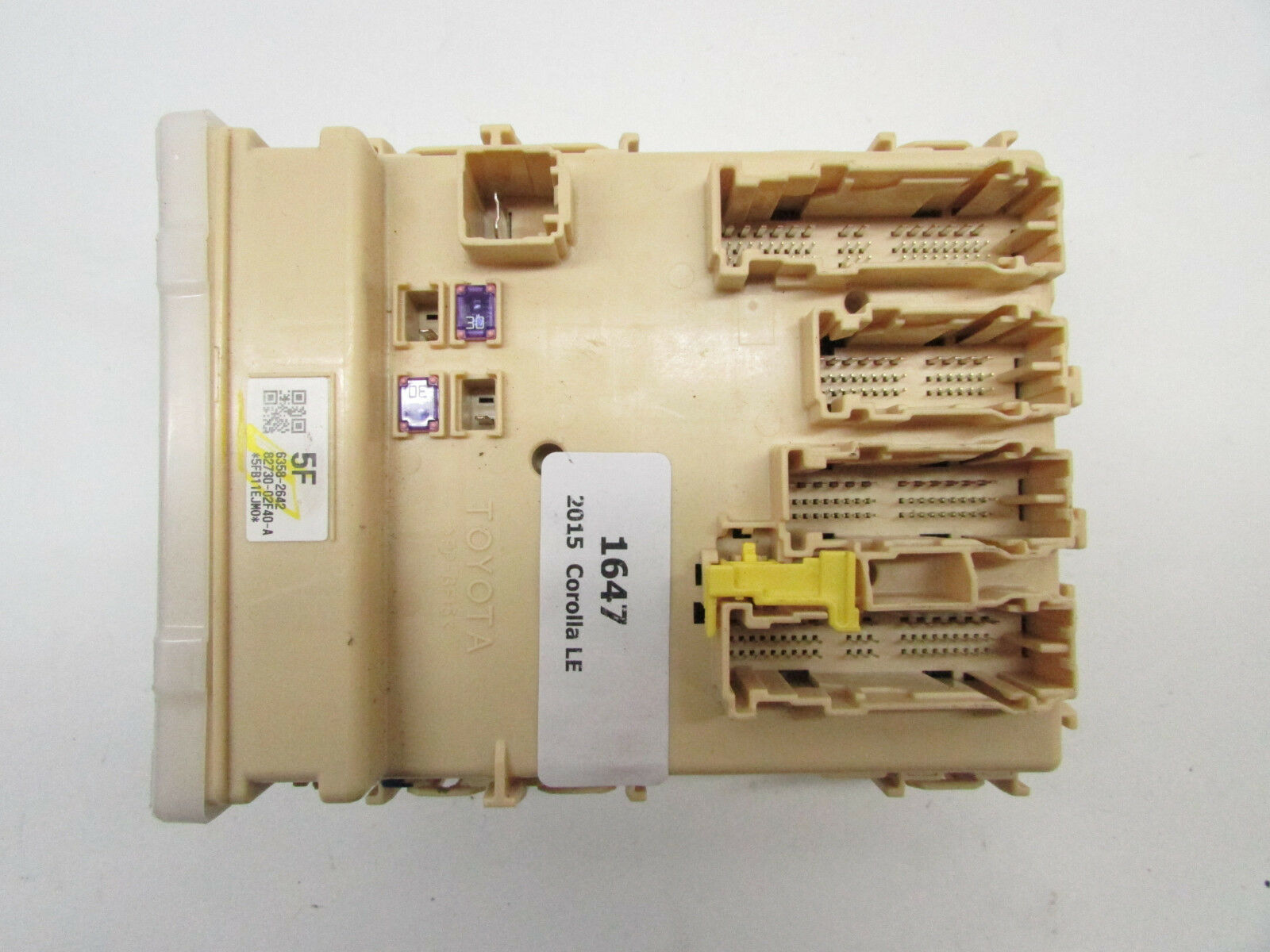 TOYOTA OEM 14-16 Corolla Electrical Fuse Relay-junction Block 8273002F40    eBay