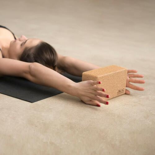 2x Cork Exercice Yoga blocs brique 2 Set Pour Fitness Stretching Bloc Pilates UK