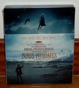 EL-HOGAR-DE-MISS-PEREGRINE-PARA-NINOS-PECULIARES-STEELBOOK-BLU-RAY-3D-2D-NUEVO
