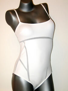La Perla Costume da Bagno Lusso - 38 B-Nuovo Bianco GB 12/FR 40/IT 44) NO TRIUMPH