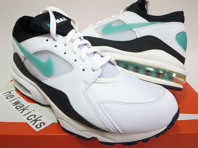 new styles popular stores hot sale online 2018 NIKE AIR MAX 93 DUSTY CACTUS WHITE SPORT TURQ BLACK 306551-107 size 11
