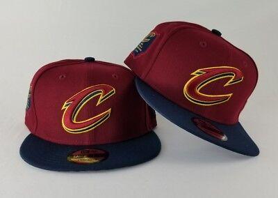 f3db38fcedd New Era Cleveland Cavaliers 2016 NBA Finals Champions Side 950 Snapback Hat