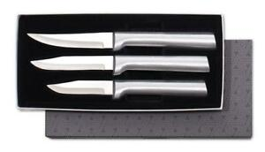 Details About Rada S01 Paring Kitchen Knife Set 3pc Cutlery Usa Made L R Hand Use New Sharp