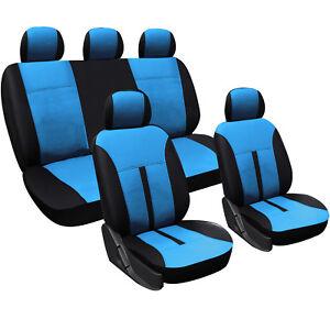sitzbezug sitzbez ge auto schoner kunstleder f r pkw ohne seitenairbag as7288bl ebay. Black Bedroom Furniture Sets. Home Design Ideas