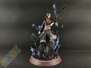 Anime-Naruto-Shippuden-Uchiha-Itachi-With-Crow-Action-Figure-Toy-28cm