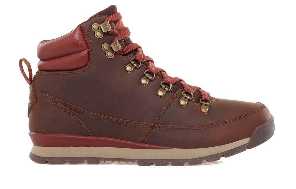 New THE NORTH FACE Back-To-Berkeley Redux Leather Trans Boots - Men's Size 12.5