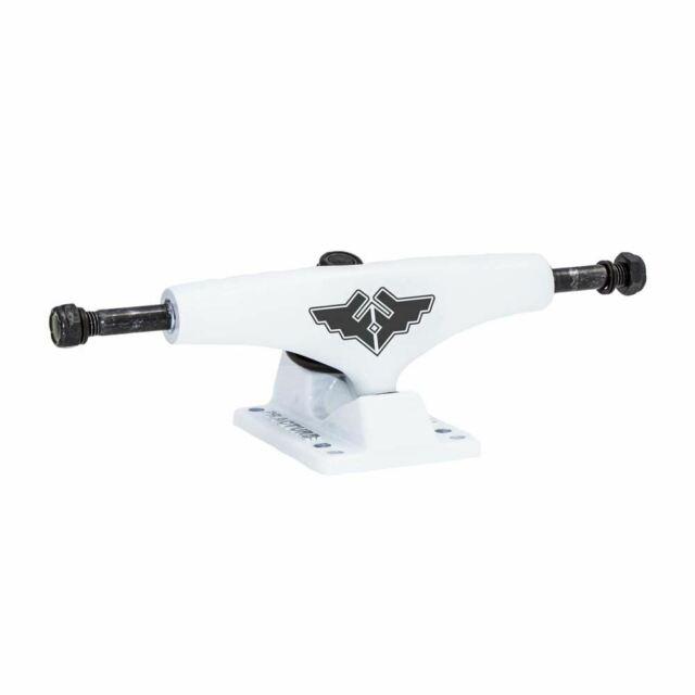 Fracture Skateboards Wings Skateboard Trucks White 5.25