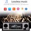 Car-1Din-MP3-Player-Bluetooth-Microphone-Hands-free-Calls-FM-Stereo-Radio-USB-SD thumbnail 8